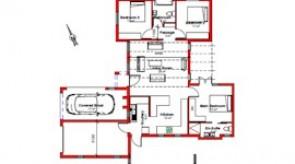 150 m² 3 bed 2 bath 1 garage 1 carport