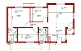 78 m² 3 bed 2 bath